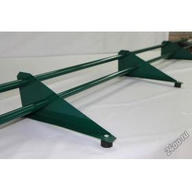 Снегозадержатель Трубчатый для кровли, металлочерепица, профлист Ral 6005 - Зеленый мох