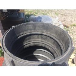 Кольцо колодца 700*200мм 30 кг Черный