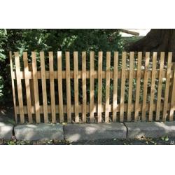 Забор из штакетника высотой 1,5 метра