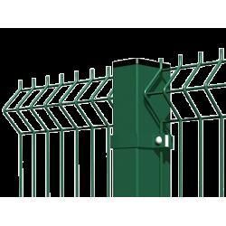 Забор, металлическое ограждение Гардис, Gardis Optima 3D, высота 2,1 метра
