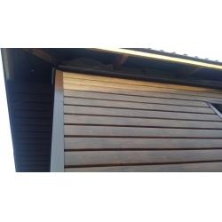 Металлический Сайдинг Lбрус, покрытие Ecosteel® Мореный дуб матовый