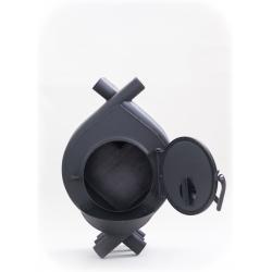 Печь воздухогрейная, буржуйка, булерьян БВ-100