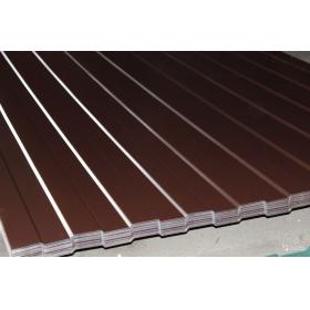 Профнастил профлист С8 0,4мм RAL8017 Шоколад