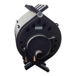 Печь воздухогрейная, буржуйка, булерьян БВ-480 Сибирь Мощность 27 кВт/ Отапливаемая площадь 150-400 м2