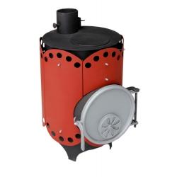 Печь воздухогрейная, буржуйка, булерьян «Столыпинка» Мощность 3 КВт/ Отапливаемая площадь до 80 м2