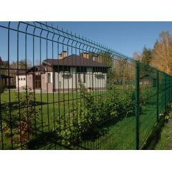 """Забор, металлическое ограждение Гардис, Gardis Optima 3D, высота 2,1 метра под """"ключ"""""""
