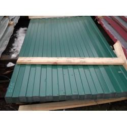 Профнастил профлист С8 0,4мм RAL6005 Зеленый мох