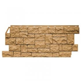 Фасадная панель FineBer (Цокольный сайдинг) Дикий Камень Песочный